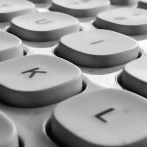 Minimalism keyboard.